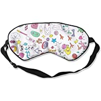 Eye Mask Eyeshade Cartoon Element Sleeping Mask Blindfold Eyepatch Adjustable Head Strap preisvergleich bei billige-tabletten.eu