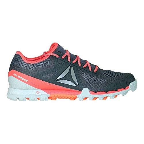 Reebok Bd2169, Chaussures Trail Running Femme Gris (Ash Grey / Skull Grey / Fire Coral / Pwtr)