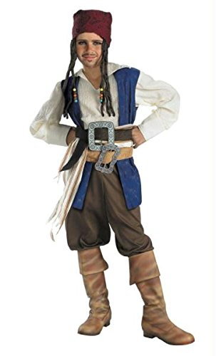 Disguise Jungen Kid 's Captain Jack Sparrow Kostüm (Kids Captain Jack Sparrow Kostüme)