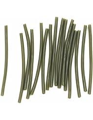 Tubos de goma de pesca de carpas para pesca de carpas aparejos de pelo DIY aborda, 50pcs/pack
