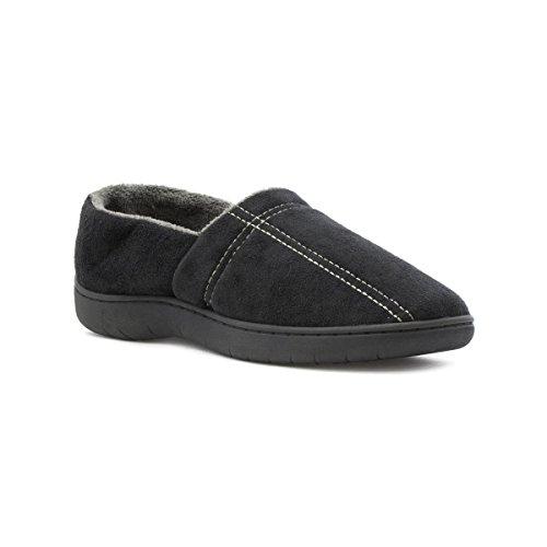the-slipper-company-mens-full-slipper-in-black-size-10-black