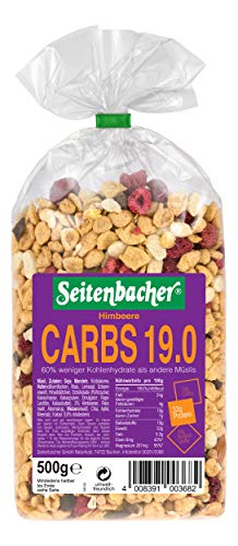 Seitenbacher Müsli Low Carb 19.0 Himbeer (1 x 0.5 kg)