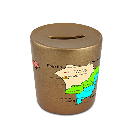 money-box-with-map-of-kedah-state-malaysia
