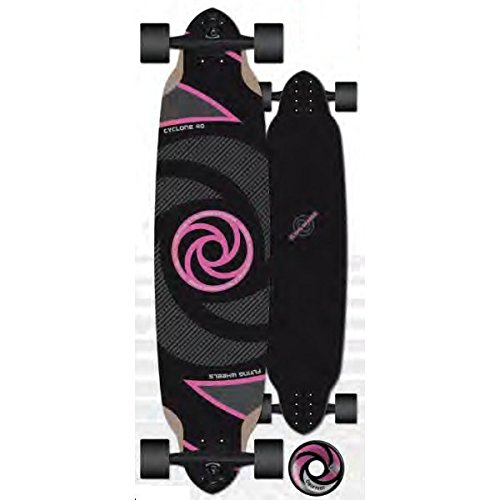 Flying Wheels Longboard Complete Cruiser Cyclone FW board 40.0 x 9.5 inch Carver - Special Edition with Koston ball bearings