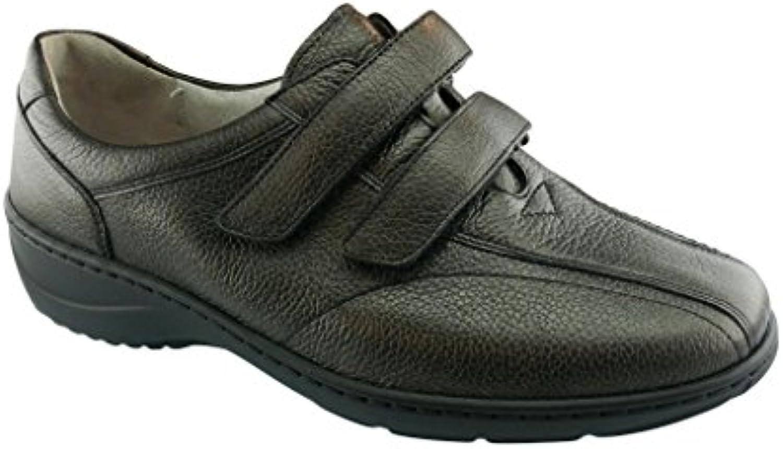 Waldläufer Kya - Zapatos de cordones de Piel para mujer