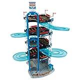 JXM Garage Playset Parcheggio Auto 3D Garage Giocattoli Costruzione Modello Fai-da-Te con 2 Auto Cosplay Giochi al Coperto Compleanno di Natale Regalo per Ragazzi Oltre 3 Anni