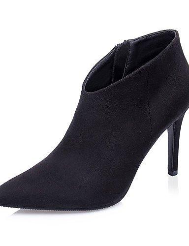 ShangYi Mode Damenschuhe Stiefel fallen die Springerstiefel / Schuhe / Geschlossen Toe Pumps Kleid Stilettabsatz Reißverschluss weitere Farben zur Verfügung. Orange