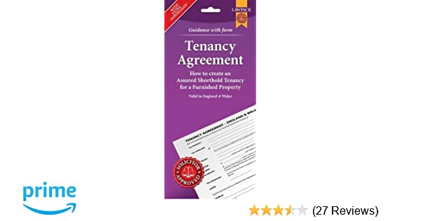 Furnished Tenancy Agreement Form Pack England And Wales Amazon