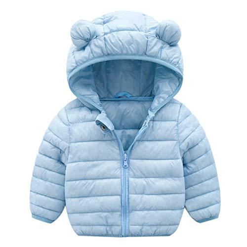 Abrigo Capa Chaqueta Gruesa Ropa Caliente,JiaMeng Abrigos de Invierno Chaqueta Niños ZipThick Ears Snow Hoodie Ropa