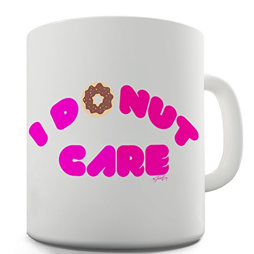 "Twisted Envy-Tazza in ceramica ""I Donut Care"