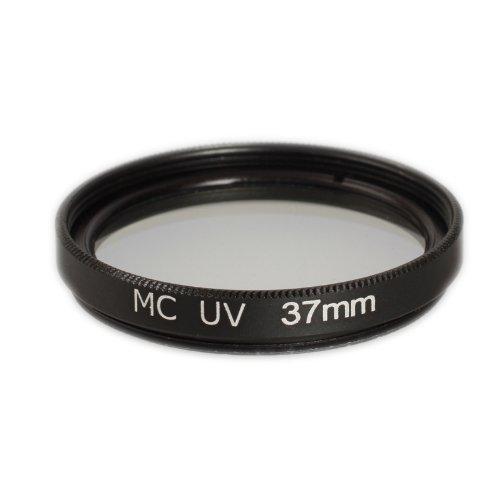 Ares Foto MC UV Filter 37mm Filter für M.ZUIKO DIGITAL 14‑42mm 1:3.5‑5.6 II R SCHWARZ