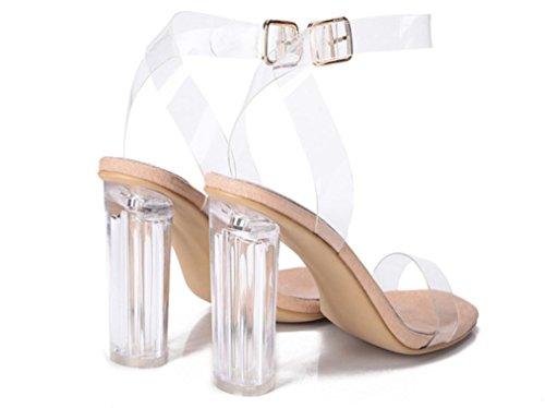 SELL XDGG donne Lucidi sandali caldo classico tacco alto 39 36 35 38 37 40 41 apricot
