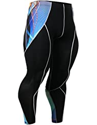Fixgear Spandex Compression Base Layer Tights Running Pants Hommes Femmes S ~ 2XL