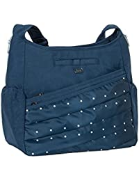 Lug Parachute Cross-body Bag, Navy Blue Cross Body Bag