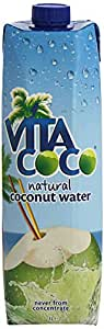 Vita Coco Coconut Water 1l (4 pack), Natural and Pure