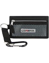 Lorenz Men'S Black Sports Wallet : 13Cm X 9Cm : Black