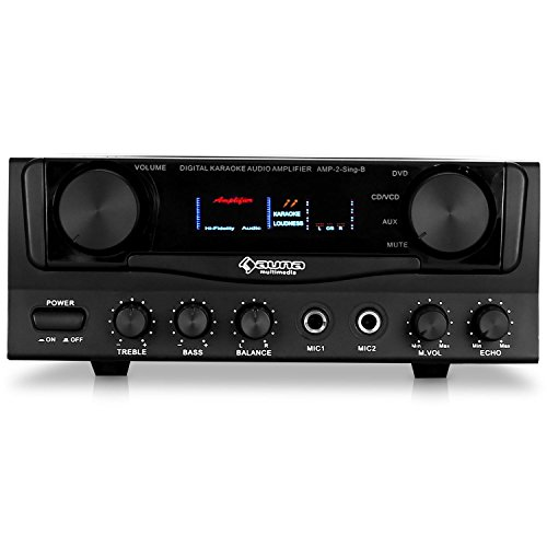 Auna Amp-2 • Amplificatore HiFi • Amplificatore PA • Amplificatore Karaoke •...
