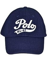 15caeb8558e2 Ralph Lauren Casquette en Laine Polo Bleu Marine pour Homme