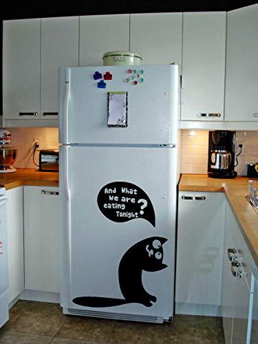 Cocina Refrigerador Puerta Vinilo Lindo Pegatina Divertido