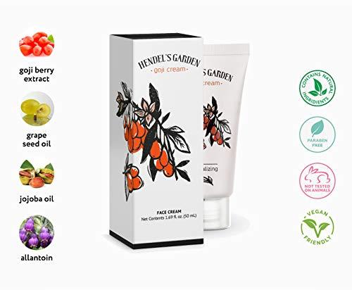Goji Cream - Crema de cara - Crema revitalizante - Crema anti-envejecimiento - Crema anti-arrugas - de Hendel