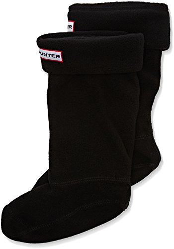 Hunter Kids? Fleece Welly Socks ? Black S25504 *