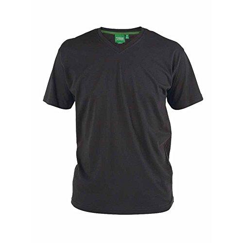 Preisvergleich Produktbild Duke Herren T-Shirt Signature-1 mit V-Ausschnitt (L) (Schwarz)