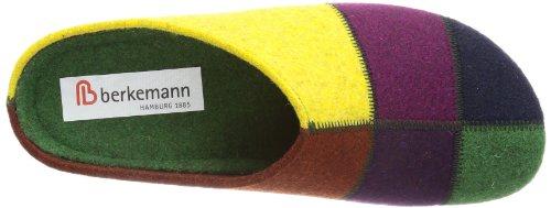 Berkemann  Klarissa,  Pantofole donna Multicolore (Mehrfarbig (lemon/Patch 018))
