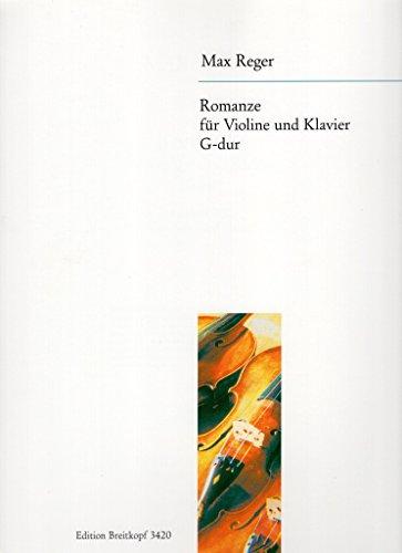 Romanze G-dur Original für Violine und Klavier (EB 3420)