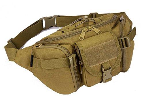 YAAGLE Armee Fans Outdoor Herren militärisch Brustbeutel wasserdicht Freizeit Hüfttasche Kuriertasche Reisetasche Fahrradrucksack Schultertasche ()