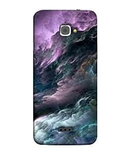 PrintVisa Designer Back Case Cover for InFocus M350 (Nature Autumn Leaf Beauty Pink)