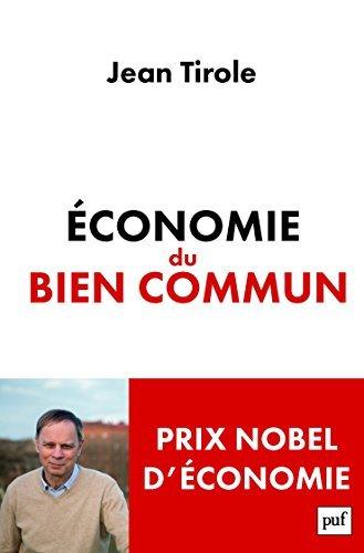 Economie du bien commun by Jean Tirole (2016-05-11)