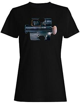 Rompecabezas vintage coche imagen camiseta de las mujeres e893f