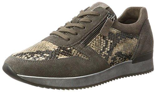 Gabor Shoes Rollingsoft, Zapatos de Cordones Derby para Mujer, Gris (30 Anthrazit), 41 EU