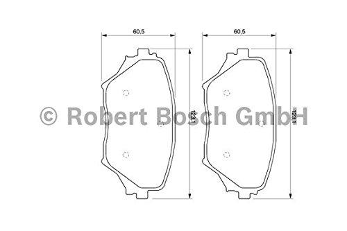 Bosch 0 986 467 720 Plaq Frein Bp713