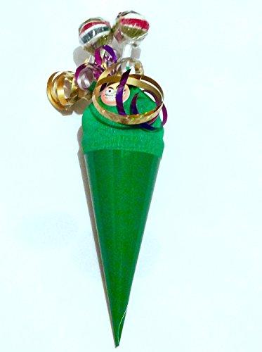 Gefüllte Zuckertüte Mitbringsel Geschenktüte 12cm Geschwistertüte die schnelle Zuckertüte - 4