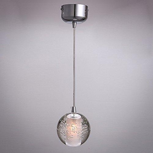 Moderne Glaskugel Anhänger Beleuchtung Runde 1 Licht Hängende Glas Anhänger Lampe Schatten mit verstellbaren Seil für Home Decoration -
