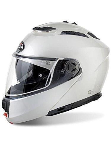 Airoh - casco moto airoh modulare phantom s color white gloss phs11 - cap4f - xxl