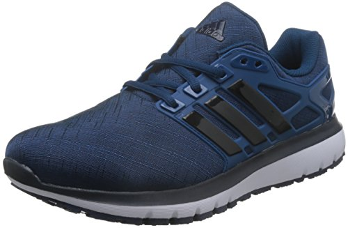 adidas Energy Cloud M, Chaussures de Running Homme Multicolore (Blue Night F17/core Black/legend Ink F17)