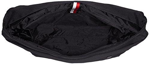 Tommy Hilfiger Herren Tommy Manhattan Messenger Business Tasche, 12 x 31 x 44 cm Schwarz (Black)