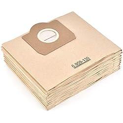 Leadaybetter 10 Karcher 6.959-130.0 Dustbag en papier A 2201/2204/2504 pour Karcher WD3 WD3P Wet & Dry Aspirateur de remplacement