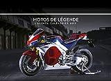 L'agenda-calendrier Motos de légende 2017