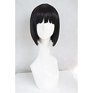 LanTing Cosplay Perücke DuRaRaRa!! Sonohara Anri Black Perücke Corta Cosplay Party Fashion Anime Human Costume Full wigs Synthetic Haar Heat Resistant Fiber