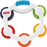 Fisher-Price Shake 'n Beats Tambourine, Multi Color