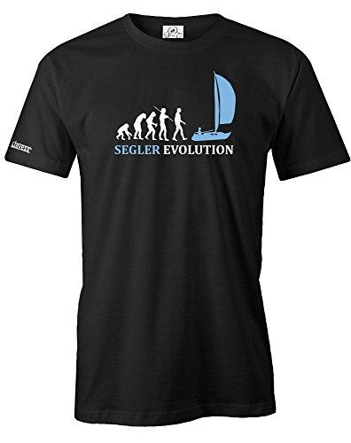 SEGLER EVOLUTION - SEGELN - HERREN - T-SHIRT in Schwarz by Jayess Gr. S