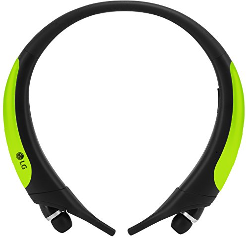 Lg cuffie stereo sport, verde lime