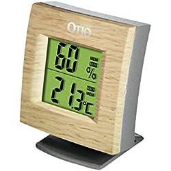 Thermomètre/Hygromètre HH-22 bois - Otio