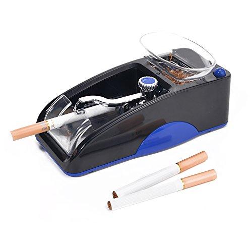Aiusmcbsy Tubeuse Électrique Automatique, Machine à Tuber Les Cigarettes Cadeau Classic Noël Anniversaire pour Homme Père(Bleu)