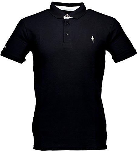 polo-t-shirt-maniche-corte-uomo-cesare-paciotti-men-short-sleeves-cp11ps1-nero-xl