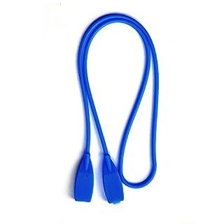 Ajetex Sports Brillenband Brillenkordel Brillenschnur (4 Farben) 53cm (Blau)