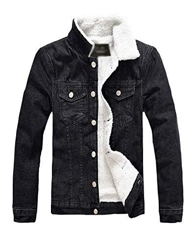 Chaqueta De Mezclilla Vendimia Jeans Warm Abrigo De